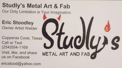Studlys Metal Art and Fab Copperas Cove, TX Thumbtack