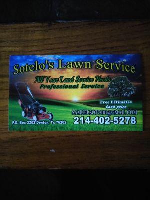 Sotelo's Lawn Service Denton, TX Thumbtack