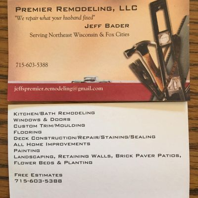 Premier Remodeling, LLC Appleton, WI Thumbtack
