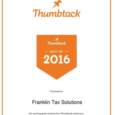 Franklin Tax Solutions San Rafael, CA Thumbtack