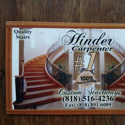 Hinder Wooden Stairways Panorama City, CA Thumbtack