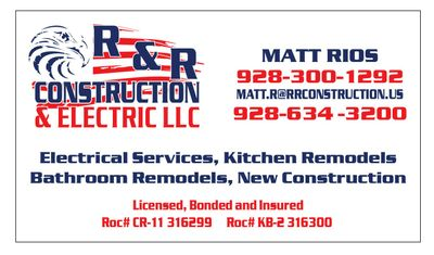 R&R Construction & Electrical LLC Cottonwood, AZ Thumbtack