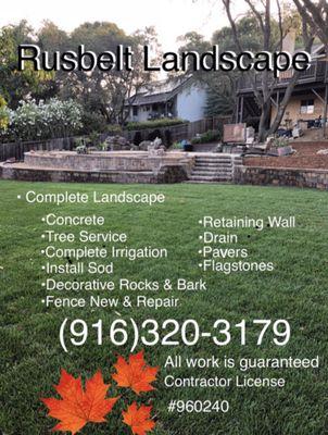 Rusbelt Landscape Sacramento, CA Thumbtack