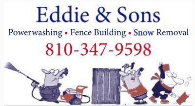 EDDIE & SONS POWERWASHING-FENCE BUILD- LLC Flushing, MI Thumbtack