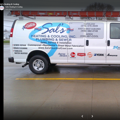 Sal's Heating and Cooling, Plumbing and Sewer Inc. North Royalton, OH Thumbtack