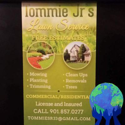 Tommie Jr's Lawn Service Memphis, TN Thumbtack