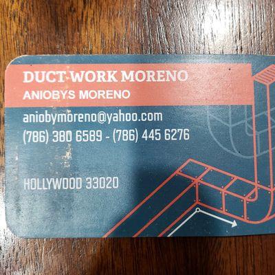 Duct Work Moreno Hollywood, FL Thumbtack