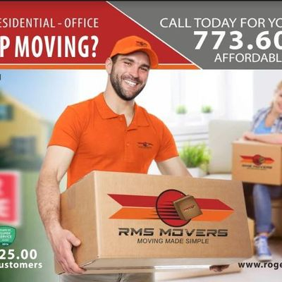 RMS MOVERS of Chicago Chicago, IL Thumbtack