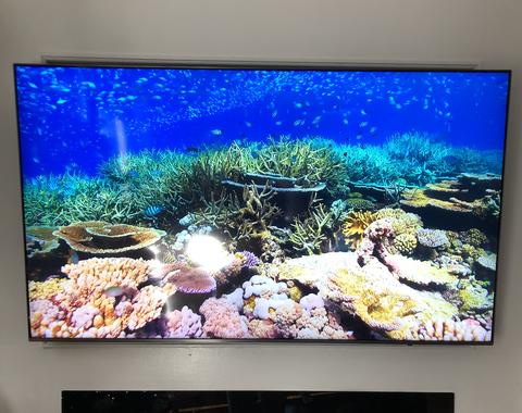 65 inch Samsung TV Mounting