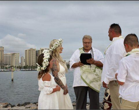 Outdoor Beach Wedding