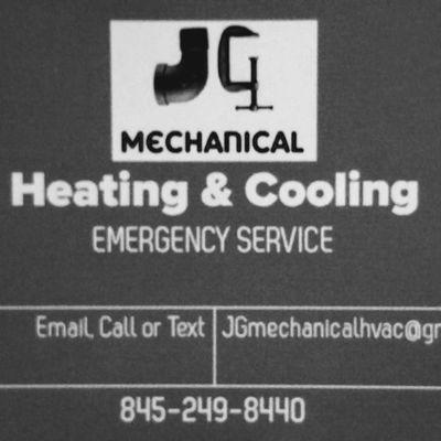 JG Mechanical HVAC and Generator's Beacon, NY Thumbtack