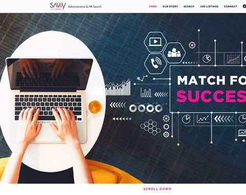 Savvy Search Solutions Website