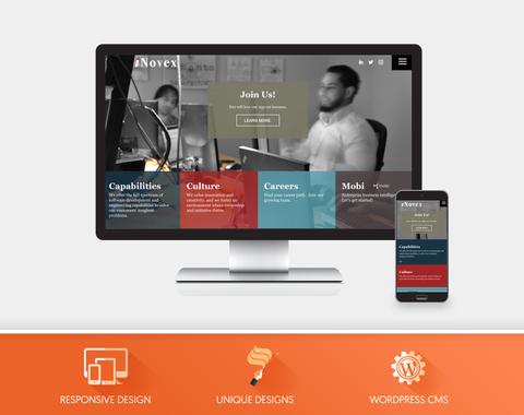 iNovex - Website Project