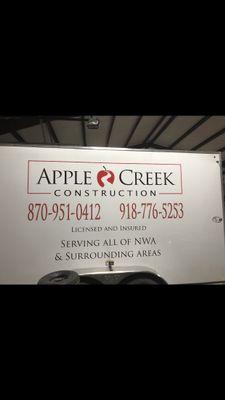 Apple Creek Construction Pea Ridge, AR Thumbtack