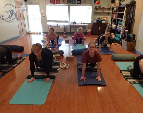 Small Group Yoga Practice