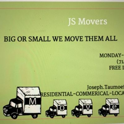 "JS Movers ""Big or Small We Move them All"" Salt Lake City, UT Thumbtack"