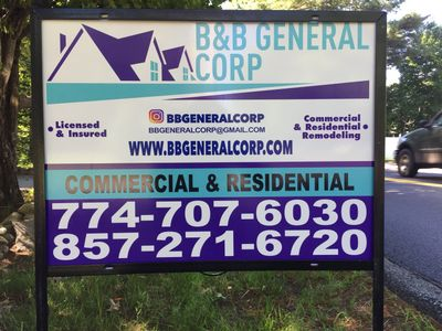 B&B General Corp Whitman, MA Thumbtack