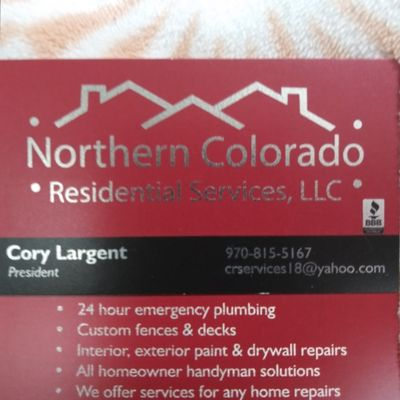 Northern Colorado residential services llc Evans, CO Thumbtack