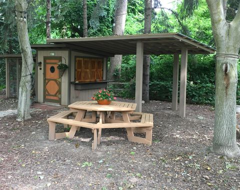 Chicken Coop converted to a She Shed