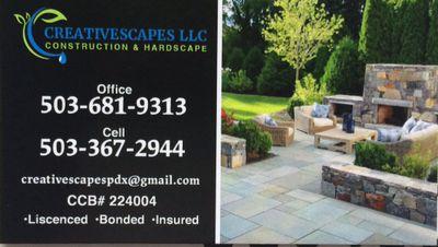 Creativescapes LLC construction & hardscape Hillsboro, OR Thumbtack