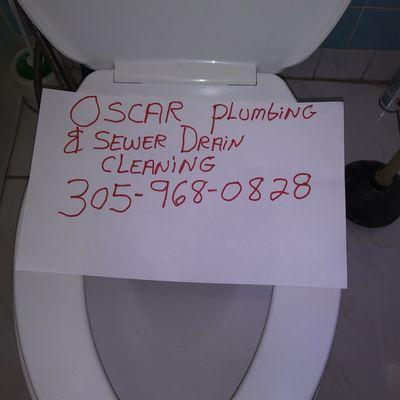 Oscar plumbing & sewer drain clog services. Miami, FL Thumbtack