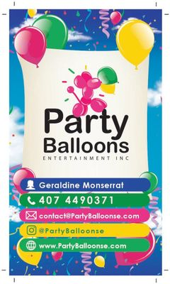 Party Balloons Entertainment INC Tampa, FL Thumbtack