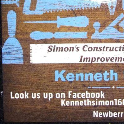 Simons  Construction Newberry, SC Thumbtack