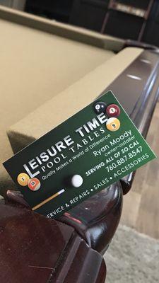 Leisuretime Pool Tables Hesperia, CA Thumbtack