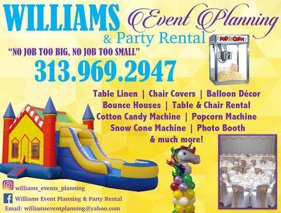 Willims Event Planning & Party Rentals Detroit, MI Thumbtack