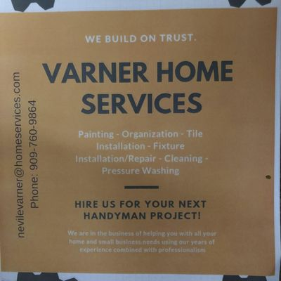 VARNER HOME SERVICES Chino, CA Thumbtack