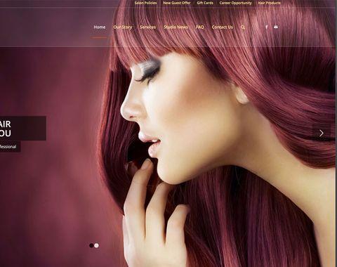 Chris & Company Salon Website