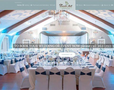 Tuscan Hall Banquet Hall Website