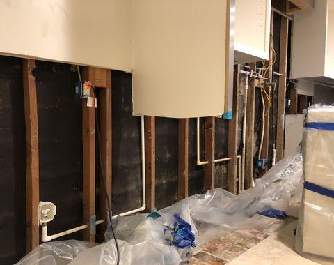 Rebuild, Cabinet Repair and Paint