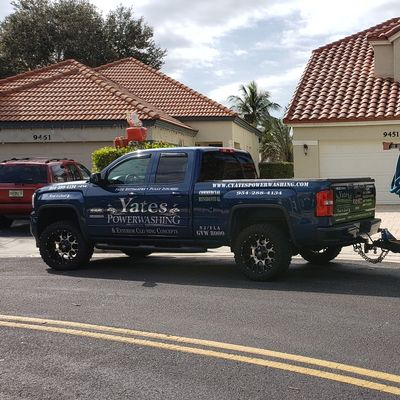 Yates powerwashing and exterior cleaning concepts Fort Lauderdale, FL Thumbtack