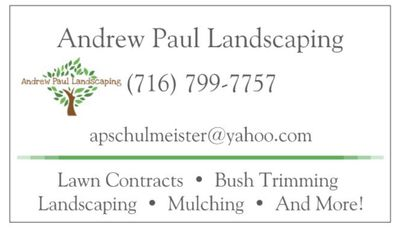 Andrew Paul Landscaping North Tonawanda, NY Thumbtack