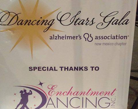 Alzheimer's Association Dancing Starts Gala Event