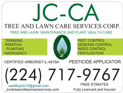 JC-CA Tree And Lawn Care Services Corporation Waukegan, IL Thumbtack