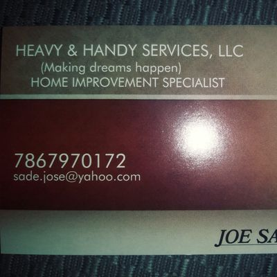 Heavy & Handy Service and Repairs LLC. Jacksonville, FL Thumbtack