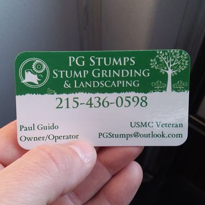 PG Stumps Levittown, PA Thumbtack