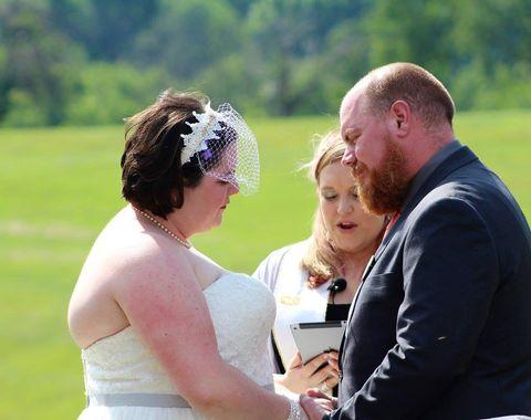 Outdoor Family Wedding