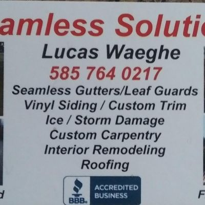 Seamless Solutions General Contracting Marion, NY Thumbtack