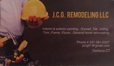 J C G. REMODELING  LLC Danbury, CT Thumbtack