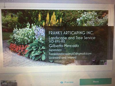 Frank's Artscaping Wilmington, CA Thumbtack
