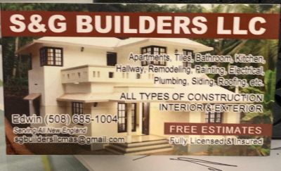 S&G BUILDERS LLC Worcester, MA Thumbtack