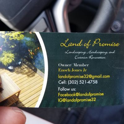 Land of Promise llc. Bear, DE Thumbtack