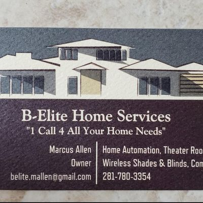 B-Elite Home Services Pearland, TX Thumbtack