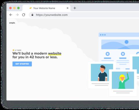 Modern One-Page Website