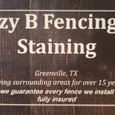 Lazy B Fencing & Staining Greenville, TX Thumbtack