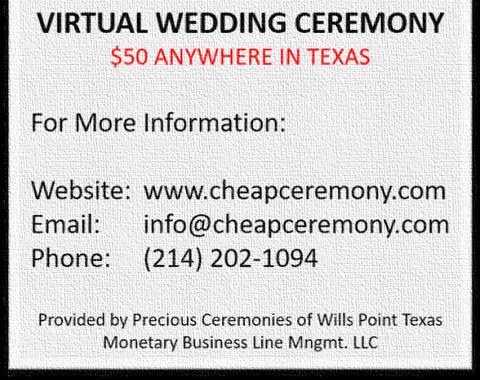 NEW Virtual Wedding