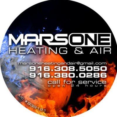 MARS ONE HEATING AND AIR CONDITIONING Rocklin, CA Thumbtack